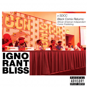 ignorant-bliss-SDCC-Black-Comix-Returns-logo